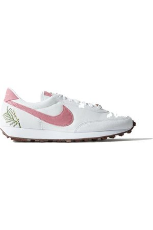 Nike Women Sneakers - Daybreak SE Catechu canvas and embroidered suede sneakers