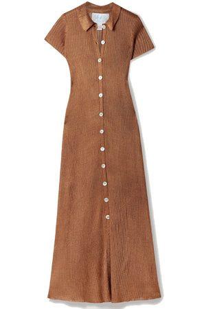 Calle Del Mar Women Knitted Dresses - NET SUSTAIN ribbed-knit midi dress