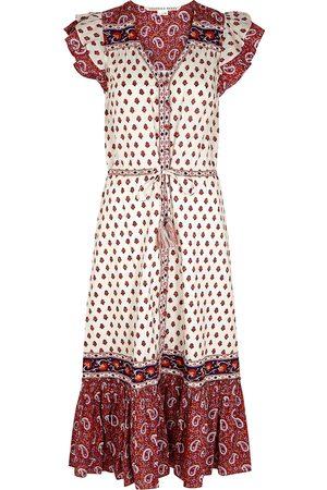 VERONICA BEARD Tinzia printed cotton shirt dress