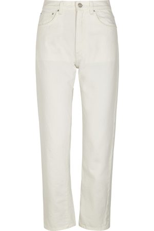 Totême Off- cropped straight-leg jeans