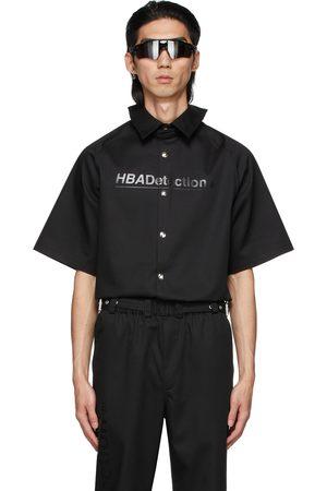 Hood By Air Light Canvas Short Sleeve Shirt
