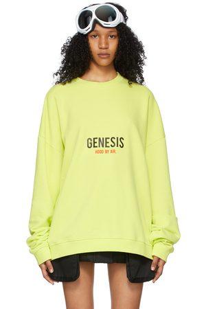 Hood By Air Green Graphic Sweatshirt