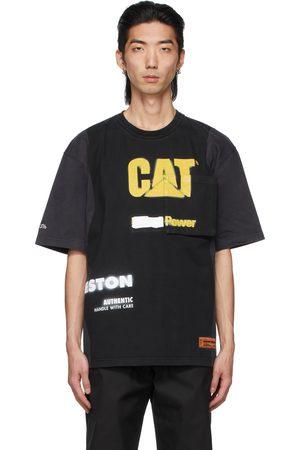 Heron Preston Black Caterpillar Edition Pocket T-Shirt