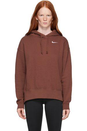 Nike Brown Fleece Sportswear Hoodie