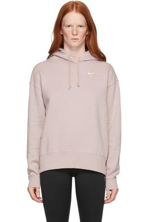 Nike Pink Fleece Sportswear Hoodie