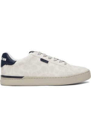 Coach Taupe Signature Lowline Sneakers