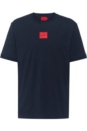 HUGO BOSS Diragolino Red Box T-Shirt Navy
