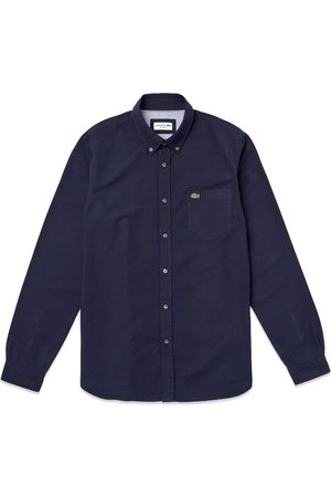 Lacoste Long Sleeve Oxford Shirt CH4976 - Dark Navy