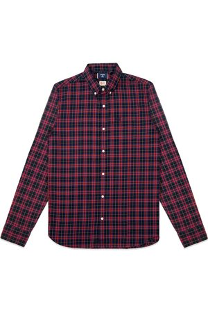 Superdry Classic London Button Down Shirt - Navy Check