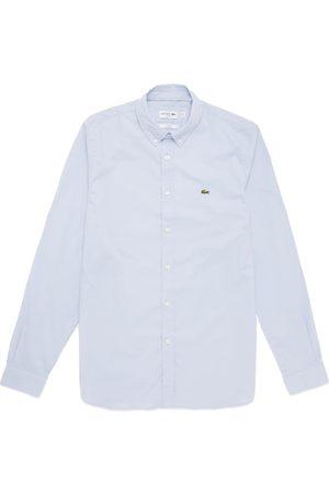 Lacoste Long Sleeve Stretch Poplin Shirt CH7221 - Sky