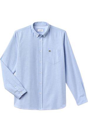 Lacoste Long Sleeve Oxford Shirt CH4976 - Sky