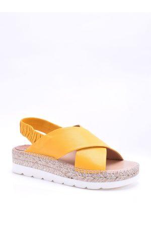Kanna Doha Cross Front Sandals
