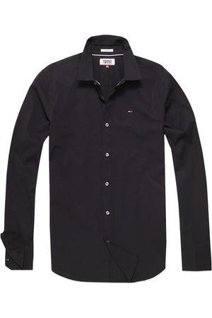 Tommy Hilfiger Original Flag Stretch Long Sleeve Shirt