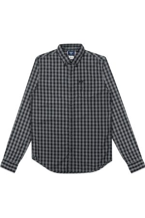 Superdry Classic London Button Down Shirt - Onyx Marl Gingham
