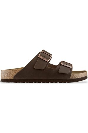 Birkenstock Arizona BS Sandals - Habana Leather