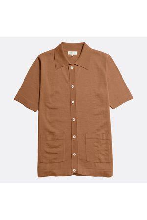 Far Afield Velzy Short Sleeve Cardigan Thrush