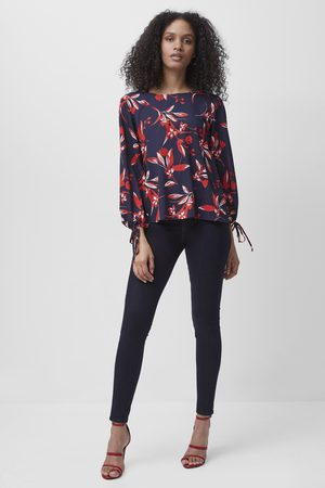 French Connection Elvia Crepe Light Long Sleeve Top