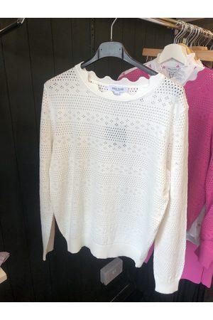 Great Plains Darci Cotton Knit LS Jumper - Milk