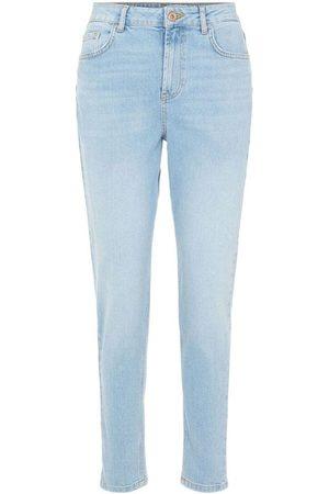 Pieces High waisted mom jeans - light , Title: LTDENIM