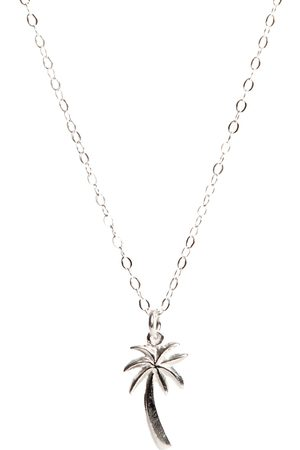 Lily King Palm Tree Necklace