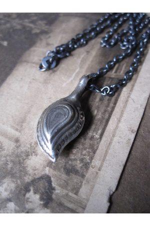 Collard Manson Women Necklaces - 925 Silver mango stone necklace
