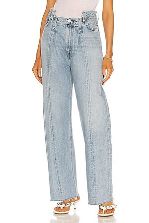 AGOLDE Pieced Angled Jean in Blue
