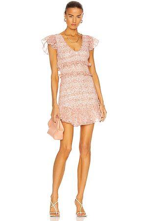 LOVESHACKFANCY Sonora Dress in Pink