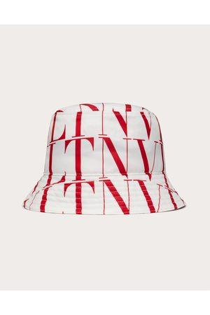 VALENTINO GARAVANI Men Hats - Vltn Times Bucket Hat Man Optic /pure 100% Poliammide 57