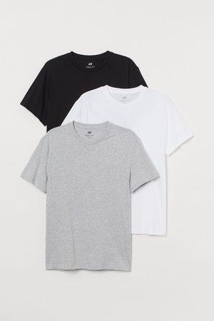 H & M 3-pack Regular Fit T-shirts
