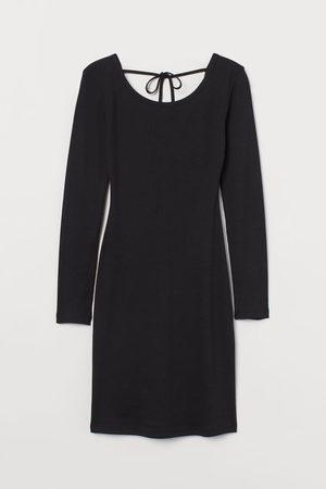 H&M Women Bodycon Dresses - Ribbed Dress