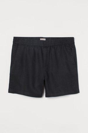 H&M Men Shorts - Regular Fit Linen Shorts
