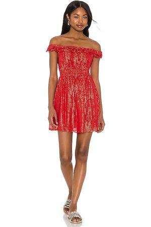 sundress Noelly Dress in Red.