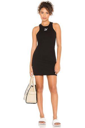 PUMA Classics Ribbed Summer Dress in .