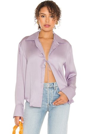 Song of Style Emberly Blouse in Lavender.