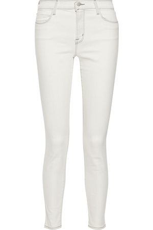 J Brand Woman Maria High-rise Skinny Jeans Off- Size 28