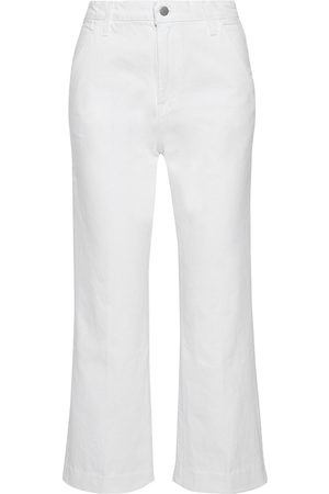 J Brand Women High Waisted - Woman Joan Cropped High-rise Straight-leg Jeans Size 23