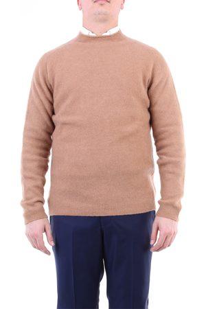Daniele Fiesoli Men Sweatshirts - Crewneck Men Camel
