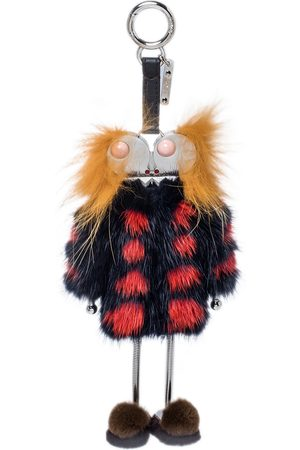 Fendi Fur and Leather Monster Sweater Bag Charm