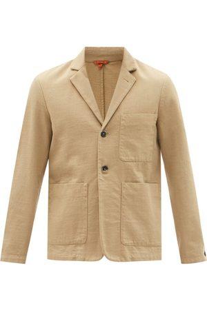 BARENA Men Blazers - Refada Single-breasted Cotton-twill Blazer - Mens