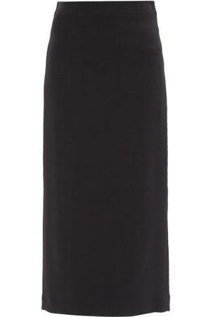 Raey Wool-blend Pencil Skirt - Womens