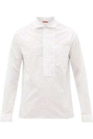 BARENA Libarol Cutaway-collar Cotton-poplin Shirt - Mens