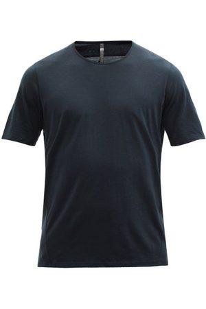 Veilance Frame Wool-blend Jersey T-shirt - Mens - Navy