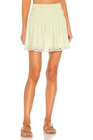 Tularosa Parker Skirt in Lemon.
