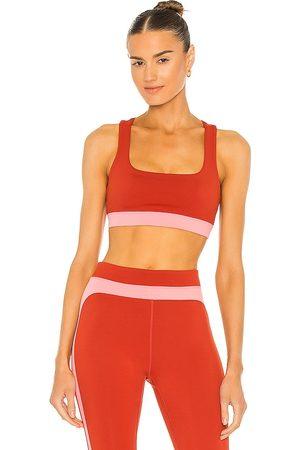 Splits59 Women Sports Bras - Dream Techflex Bra in Red.