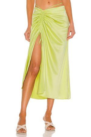 Nicholas Women Midi Skirts - Lia Skirt in Green.