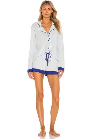 Cosabella Women Long sleeves - Long Sleeve Top And Boxer Set in .