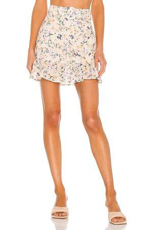 Lovers + Friends Women Mini Skirts - Jill Mini Skirt in Peach.