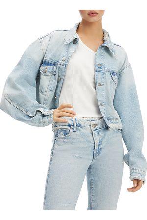 GOOD AMERICAN Women Denim Jackets - Classic Denim Jacket