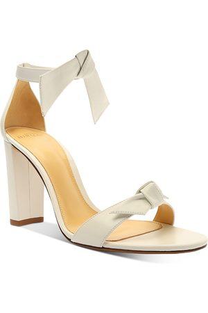 ALEXANDRE BIRMAN Women Heeled Sandals - Women's Clarita Ankle Tie High Block Heel Sandals