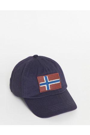 Napapijri Fontan cap in blue-Blues